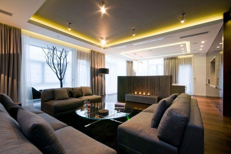 Apartment Near A Park by HOLA Design (7) interior Pinterest
