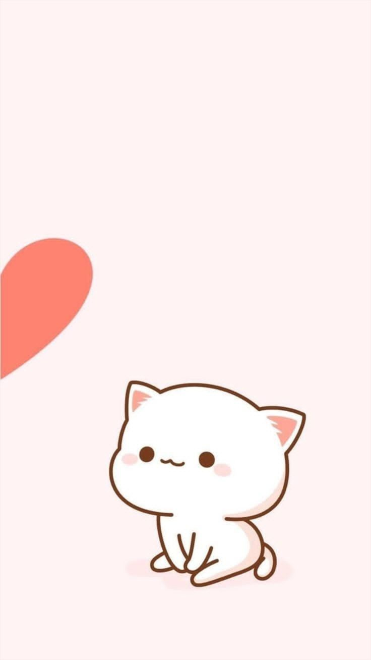 Cell Phone Wallpaper Meo Kitty Minh Họa động Vật Meo