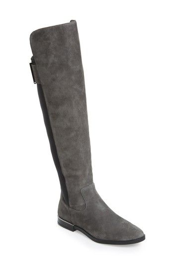 df8a72b28d6d Women's Calvin Klein Priya Over The Knee Boot - Grey | Boots | Boots ...