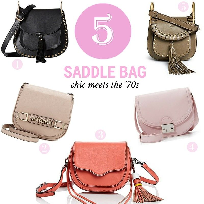 Friday Five: Sleek Saddle Bags http://stylesprinter.com/friday-five-sleek-saddle-bags/ #handbags #trends #fbloggers #styles