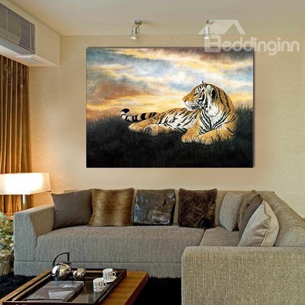 Tiger I canvas artwork Amazing image at amazing price
