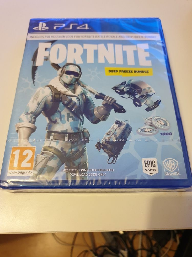 Fortnite Deep Freeze Bundle Ps4 Code Fortnite Uk Game League Of
