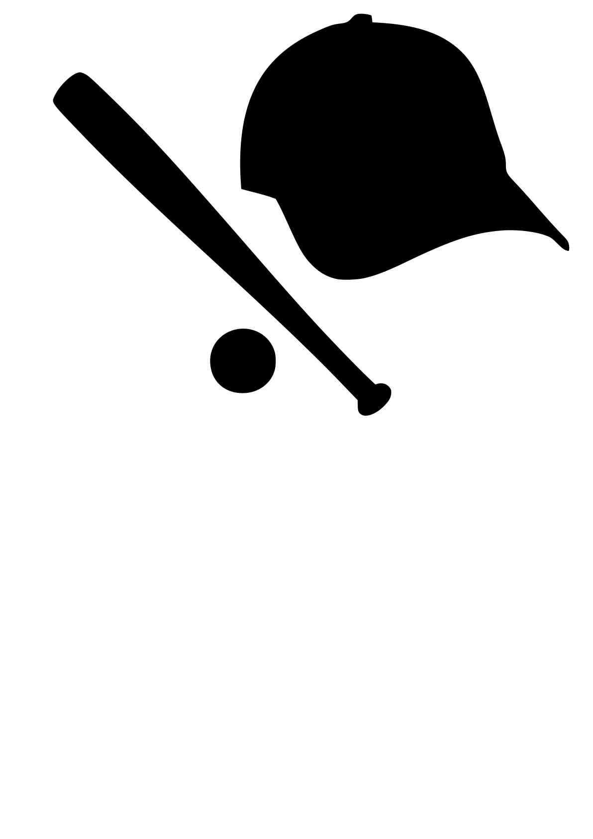Free Svg Download Baseball Hat Ball Amp Bat Beaoriginal