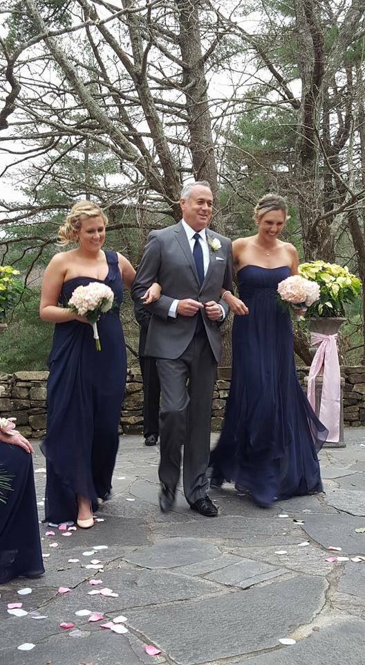 Gray, Navy, Ivory and Blush pink #weddings #jbpartyof2