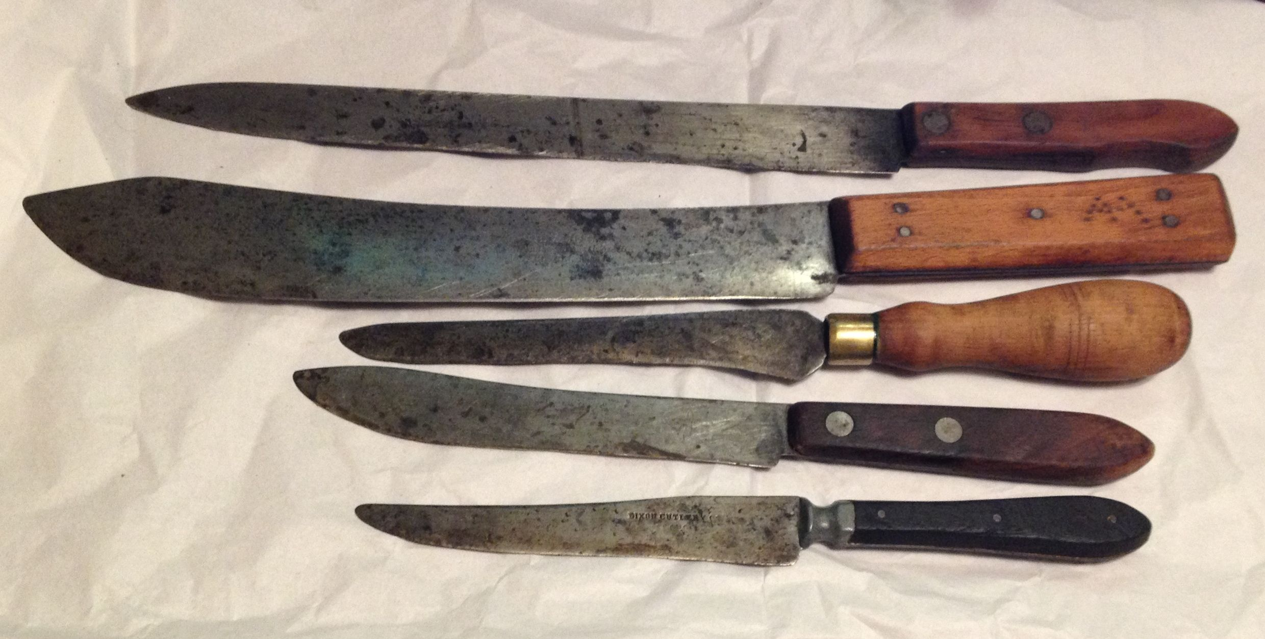 Antique Cooking Knives Colonial America Pinterest Kitchen Knives Knives And Decoration