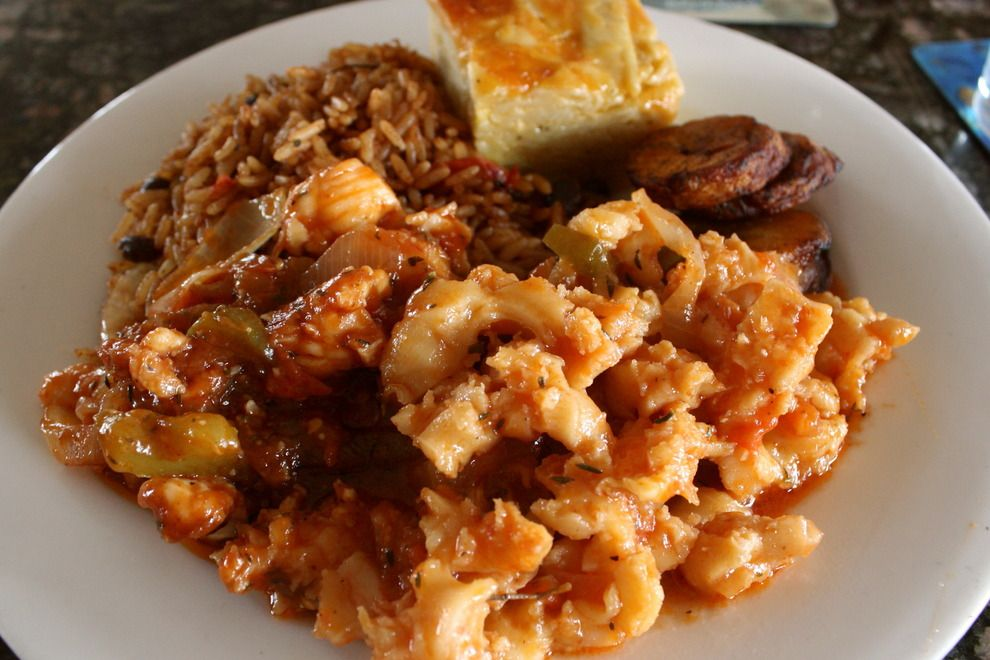 Steamed conch bahamian food is the best pinterest for Fish fry bahamas