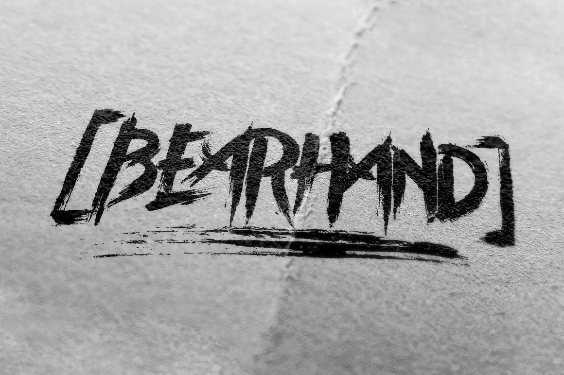 Download BearHand Typeface + Graphic Pack in 2020 | Typeface ...
