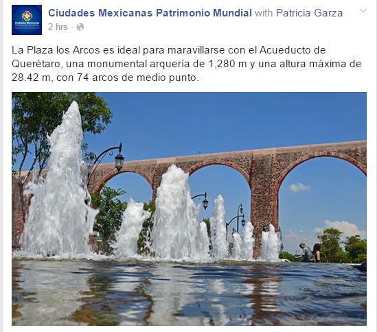 Plaza de los Arcos, Queretaro