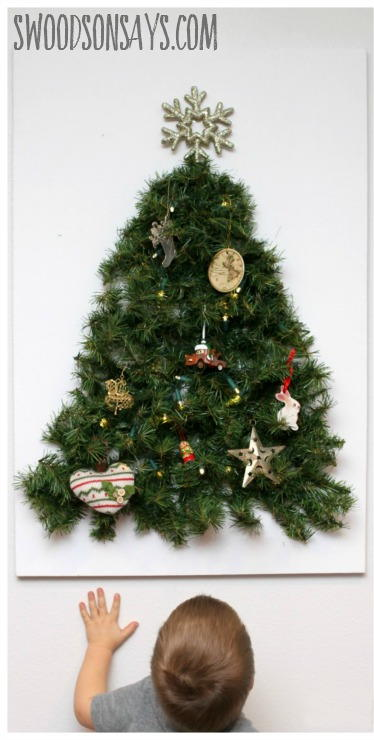 Toddler Proof Christmas Tree Crafts Favecrafts Com Christmas Tree Crafts Alternative Christmas Tree Small Space Christmas Tree
