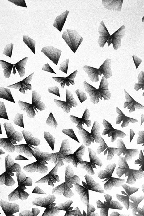 The simple butterfly pattern grasps the audiences' attention. This pattern may be a good idea for mods.