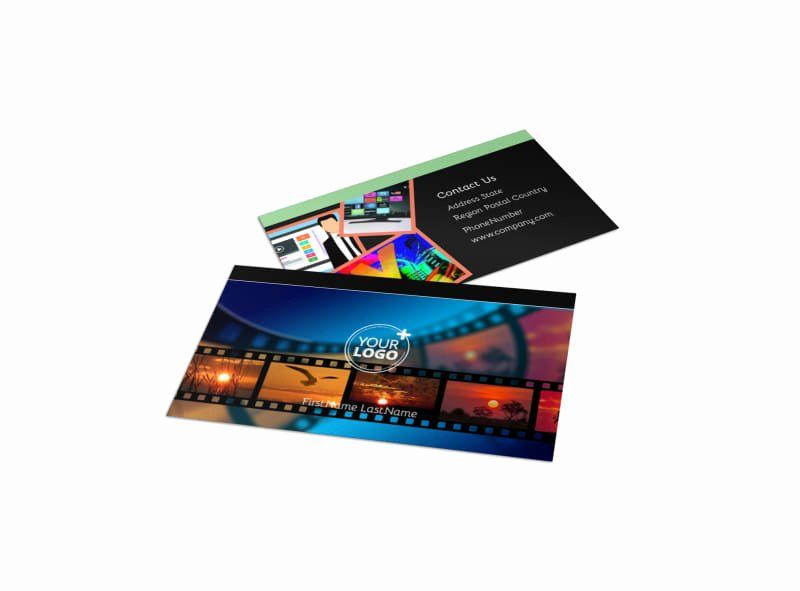 Music Producer Business Cards Inspirational Dvd Video Production Business Card Template Music Producer Cards Business Video