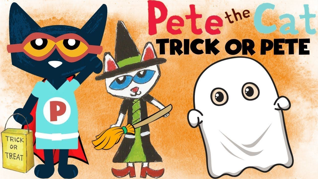 Pete the Cat Trick or Pete Cartoon YouTube funniest