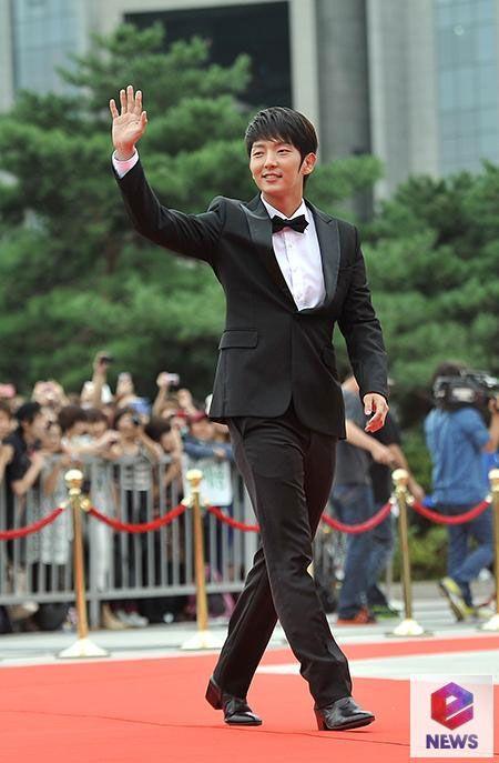 Lee Jun Ki at the Seoul Drama Awards