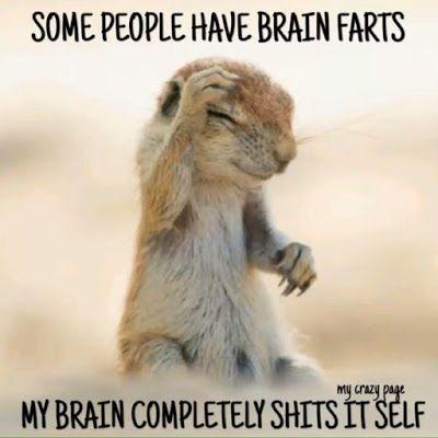when the brain churns and churns...GRIN