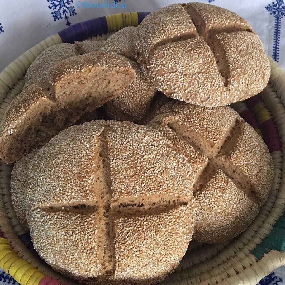 878 Mentions J Aime 78 Commentaires Fidou Fifoudidou Sur Instagram خبز الشعير او المحراش صحي و لذيذ Barely Bread Healthy And Delic Food Bread