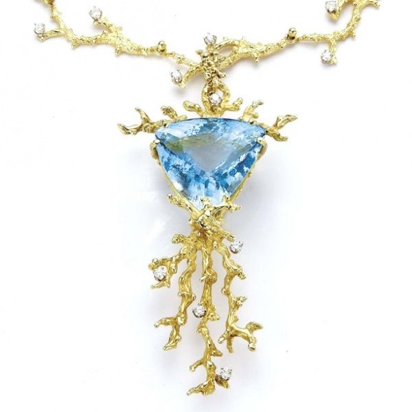 Judith Murat Seashore necklace Pinterest Nicole