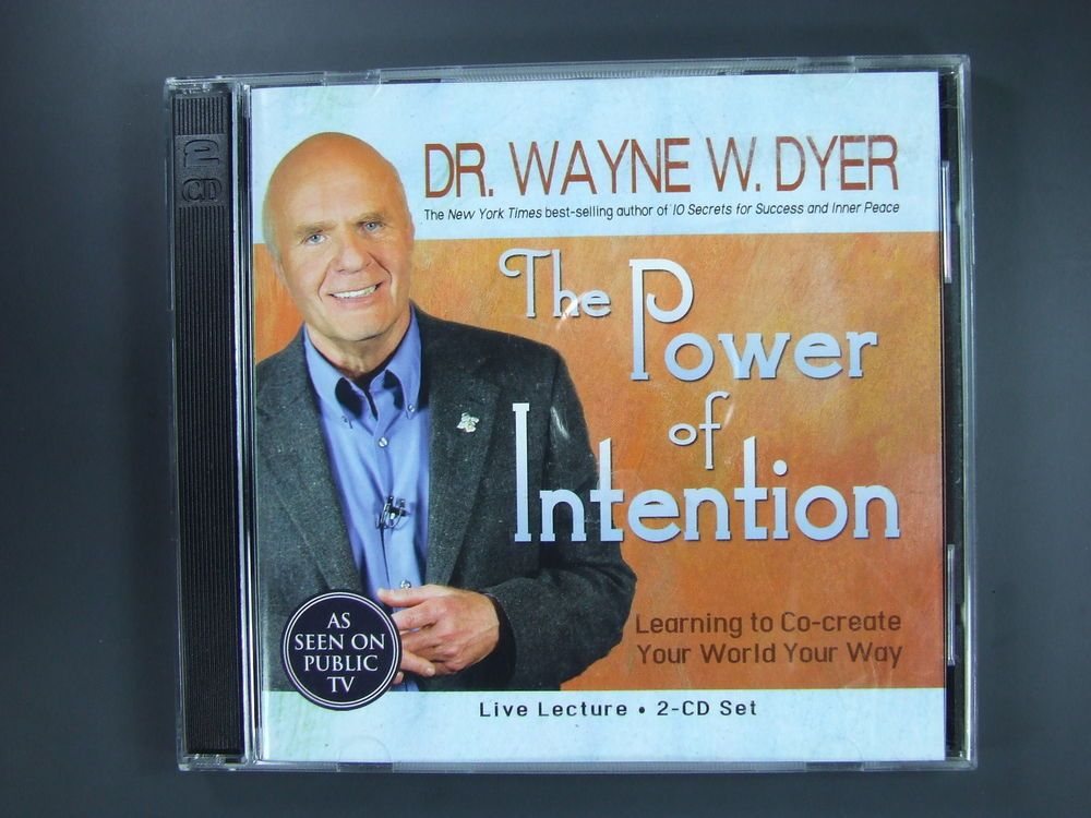 Dr wayne dyer the power of intention