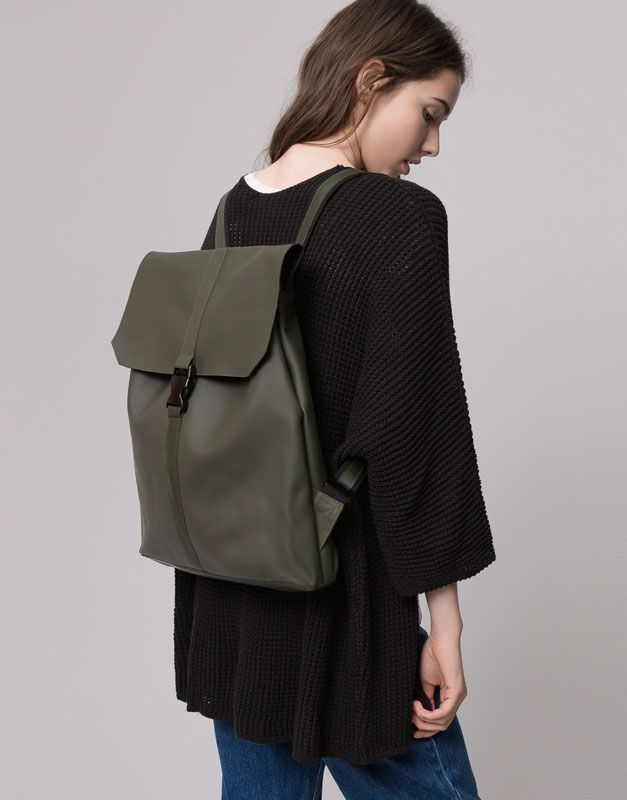 Pull&Bear - woman - bags and backpacks - waterproof backpack ...
