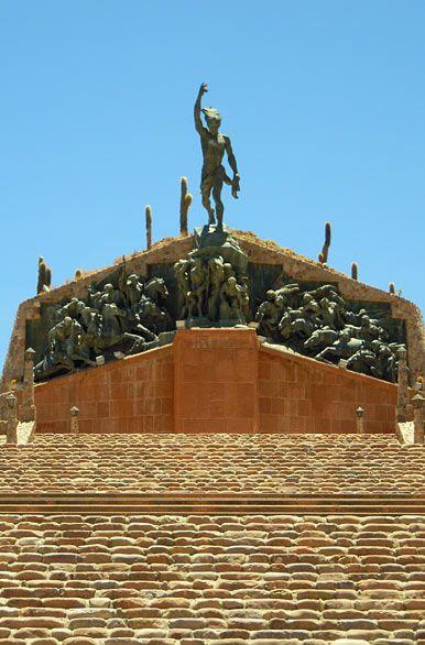Monumento a los Héroes de la Independencia, #Humahuaca, Jujuy, #Argentina