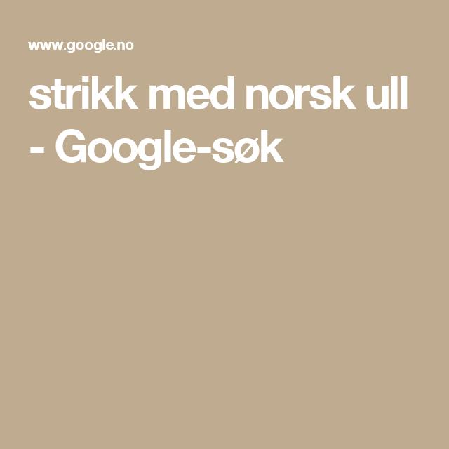 Photo of strikk med norsk ull – Google-søk