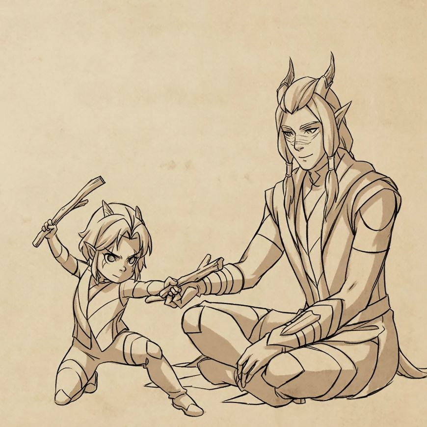 The Dragon Prince Beautiful Art From Credit Scenes Prince Dragon Dragon Princess Dragon