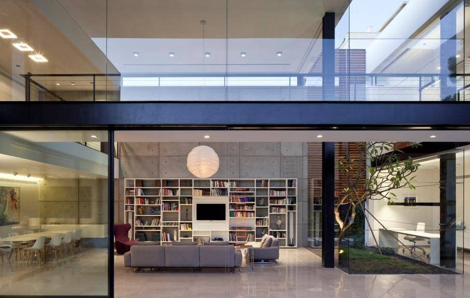Contemporary bauhaus on the carmel by pitsou kedem architects contemporary house designsarchitecture