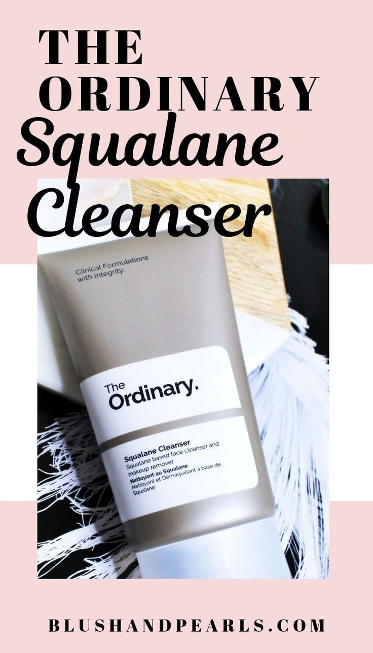 Photo of the ordinary squalane cleanser is the best cleanser for dry,…