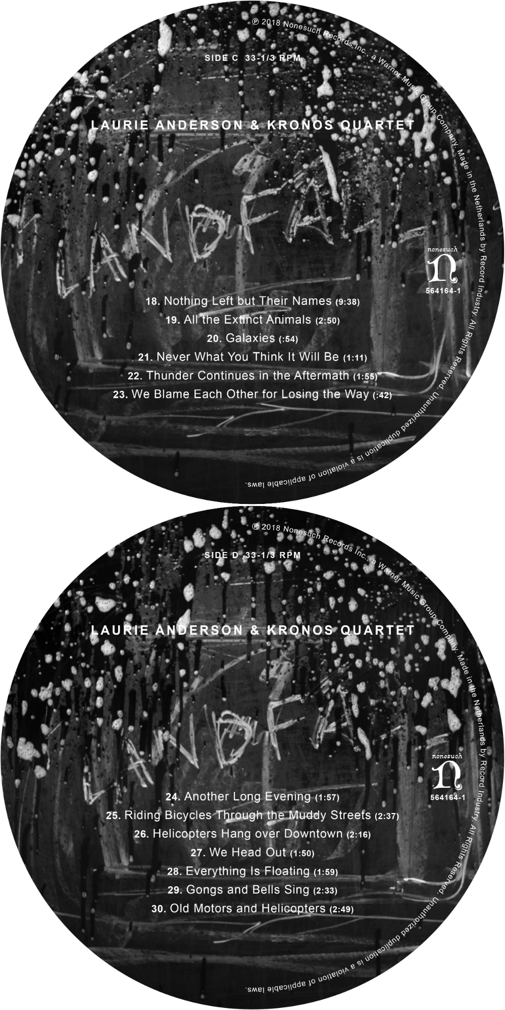 Review Laurie Anderson, Landfall ELEPHANT Magazine in