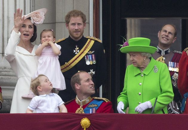 Princess Charlotte Makes Her First Palace Balcony Appearance