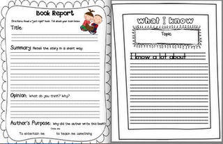 Book Report Format Idea