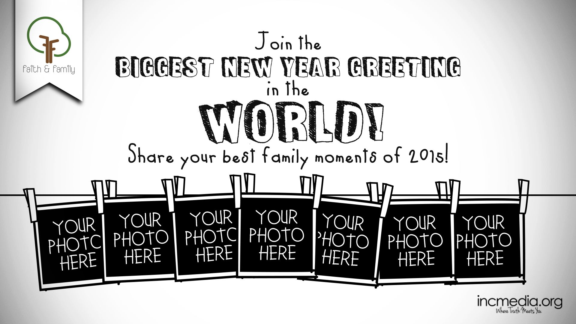 Join The Biggest New Year Greeting In The World Share Your Best