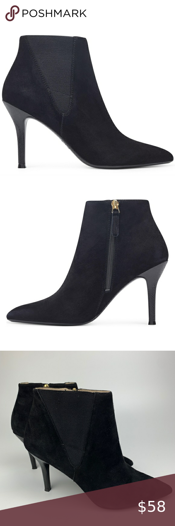 Pointed toe, Bootie boots, Ankle boots