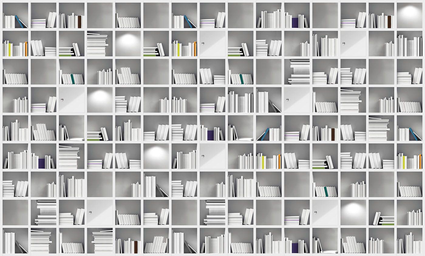 Book access InstabileLab Carta da parati Parete