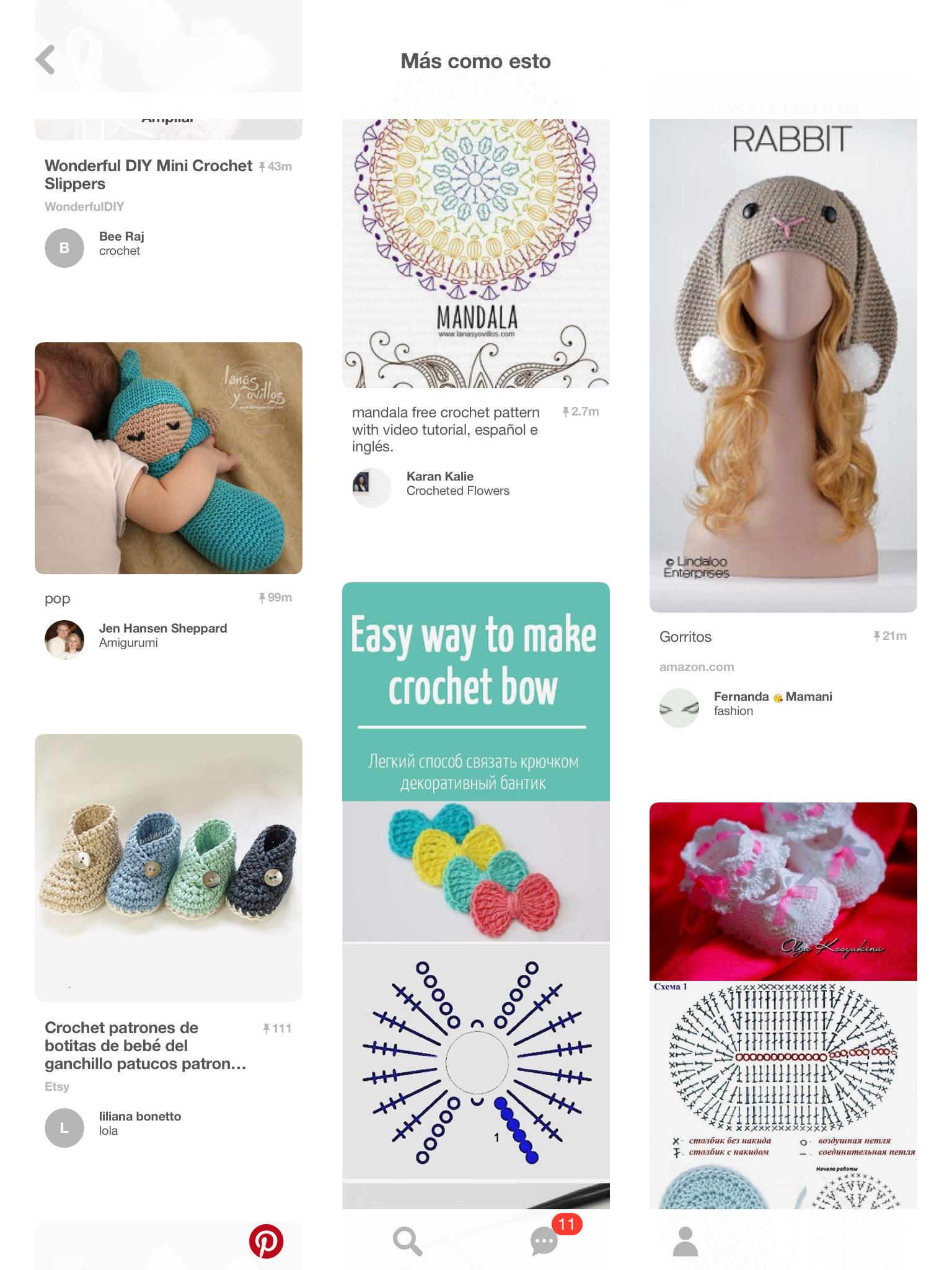 Pin de Cami Fei en Punto | Pinterest