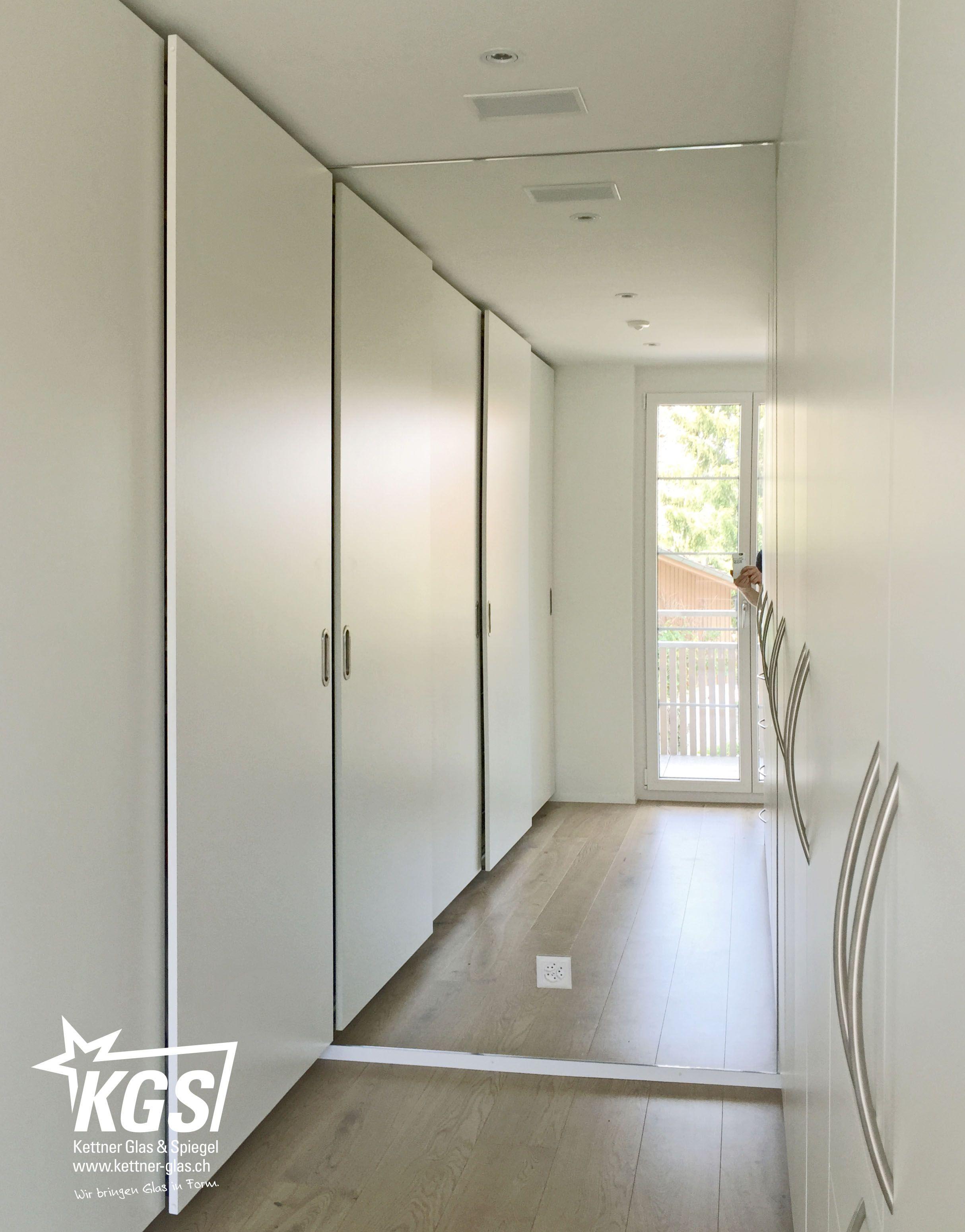 Raumhoher #Wandspiegel in #Ankleide von ihrer #Glaserei: Wieso die ...