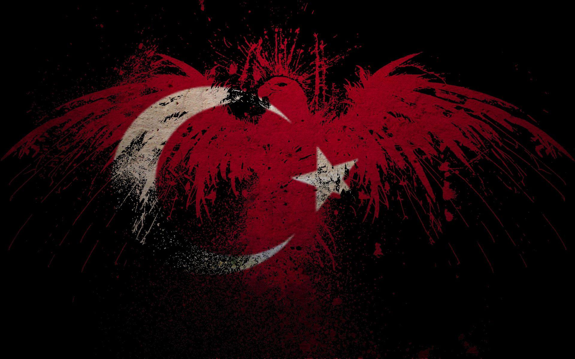 Flag Art Turkey Wallpaper Flag Art Turkey Flag High