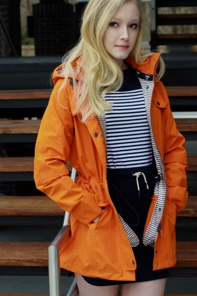 14aba0e6a Barbour Travoise Jacket in Marigold. The nautically-inspired Trevose Jacket  is fully functional and incredibly stylish. Designed with a longer fishtail  hem ...