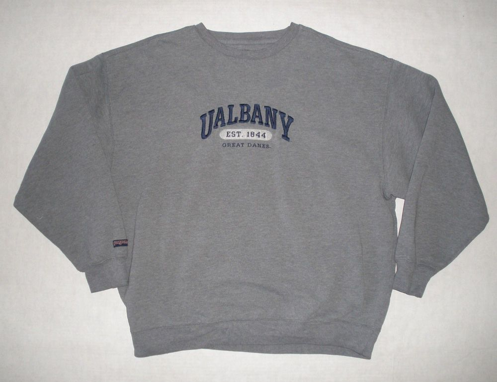 U Albany Great Danes Suny University At Albany Sweatshirt Mens