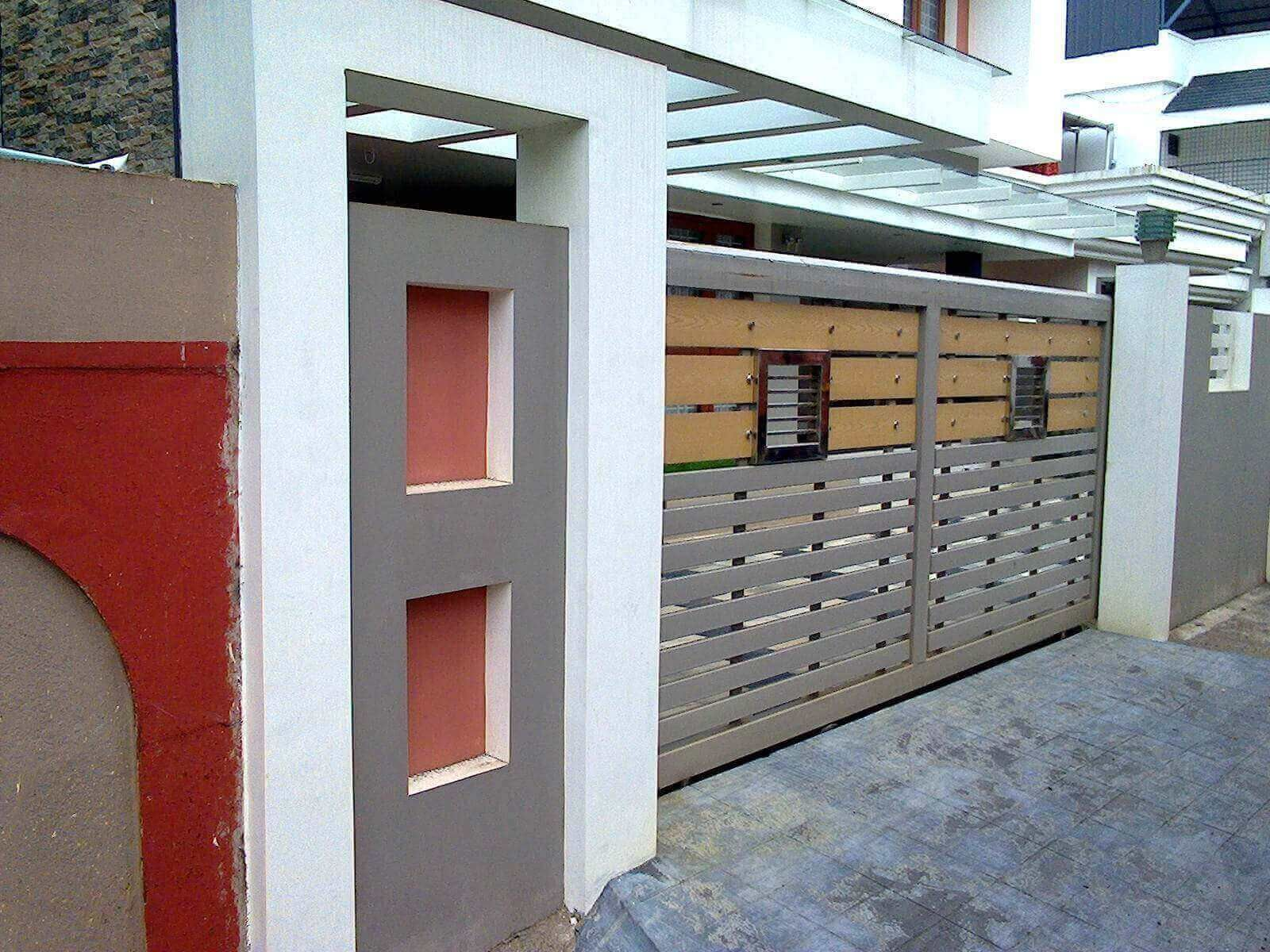 Kerala Style Sliding Gate Designs