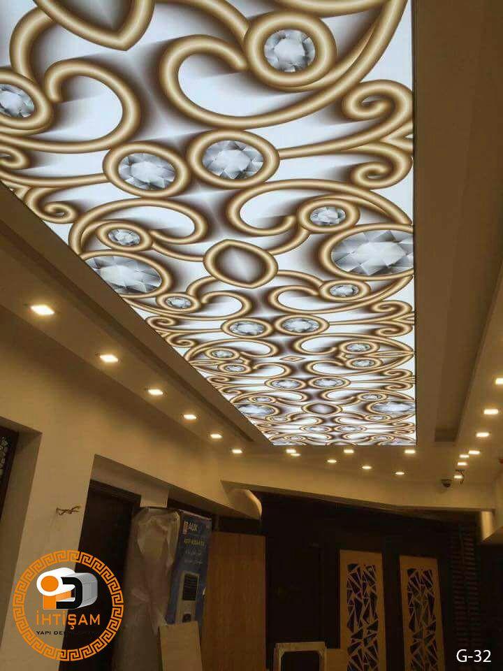 Gergi Tavan gergi tavan modelleri | İhtişam yapı dekorasyon | gergi tavan