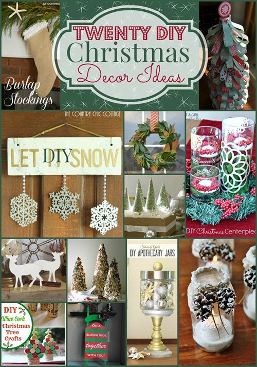 20 DIY Thrifty Christmas Decor Ideas for a Festive Home on