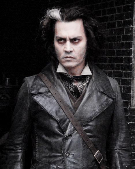 Image result for Johnny Depp sweeney todd