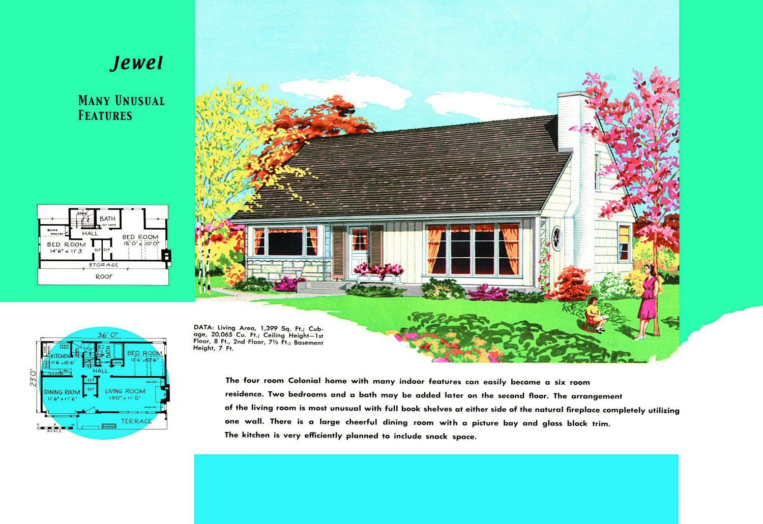 Cape cod house plans sold to mid century americans cod for Cape cod floor plans 1950