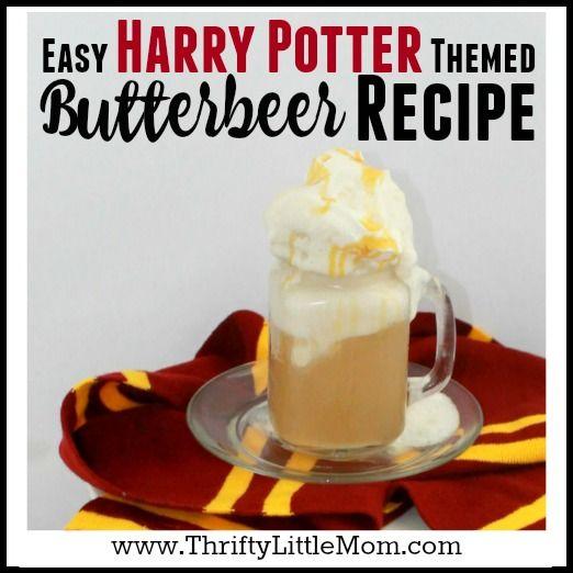 Easy Harry Potter Butterbeer Recipe Butterbeer recipe Harry