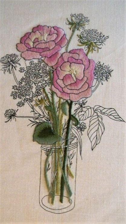 Gallery.ru / Фото #161 - Цветочное настроение иглой - Fyyfvbwrtdbx1957