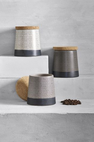 Buy Set Of 3 Journal Storage Jars From The Next Uk Online Shop