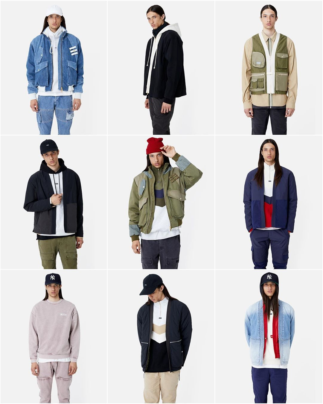 Kith On Instagram Lookbook For Kith Spring 1 Collection Releases This Friday In Stores And Online Kith Fashion Lookbook [ 1350 x 1080 Pixel ]
