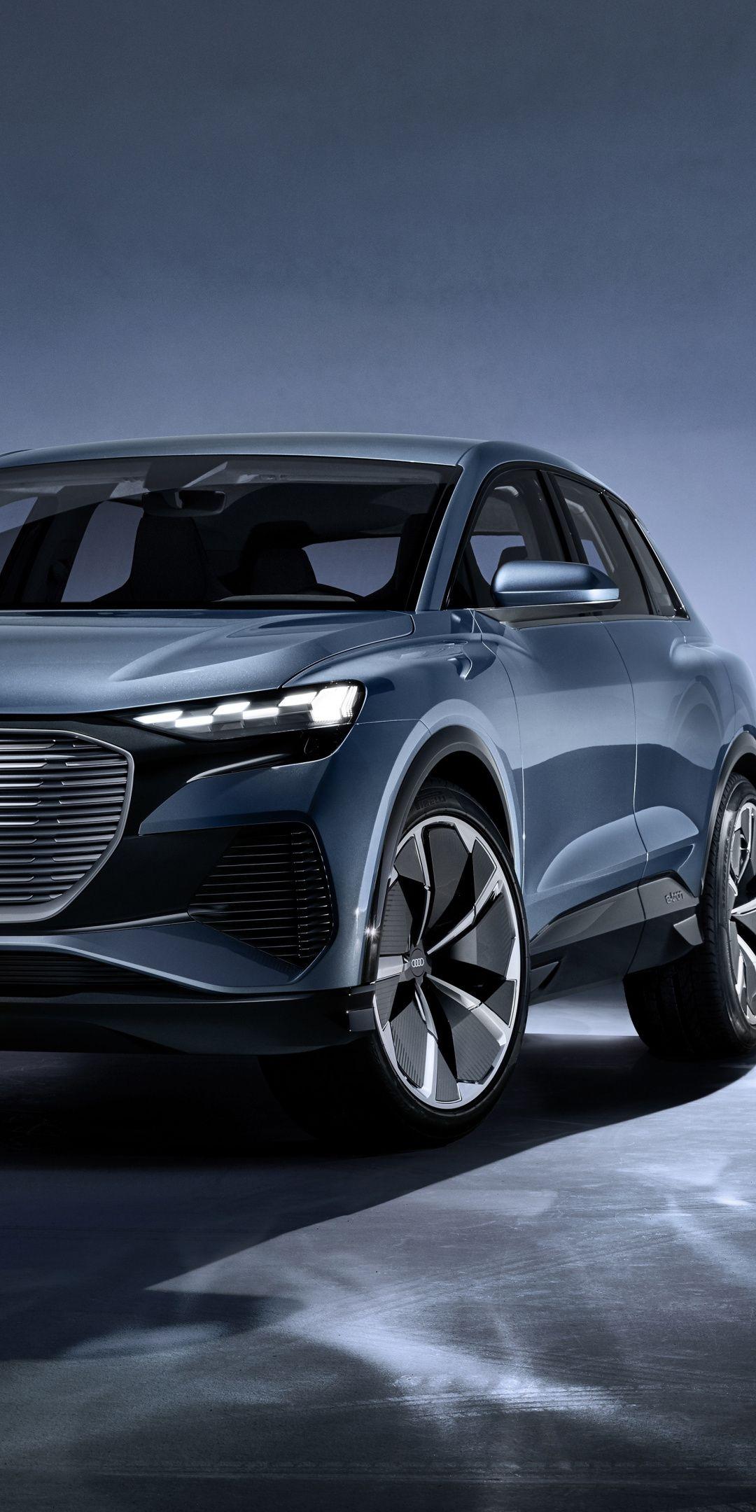 2019 Audi Q4 E Tron Concept Concept Electric Car 1080x2160 Wallpaper Audi Q4 2020 Audi Audi