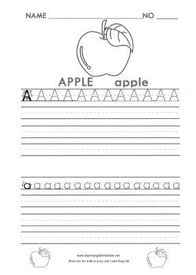 alphabet tracing worksheets for kids preschoolers a z free download c is for children. Black Bedroom Furniture Sets. Home Design Ideas