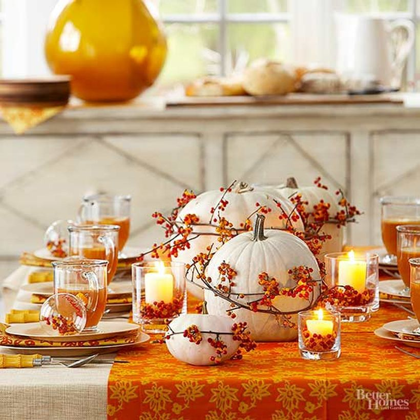 Most Trending Fall Home Decorating Ideas In 2017 That You Must See Amazing Decor Ideas Fall Table Settings Autumn Decorating Fall Decor